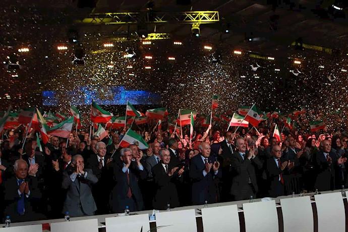 اجتماع مجاهدان آزادی در اشرف ۳