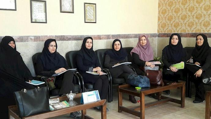 تحصن سراسری معلمان - البرز - ۱۲اسفند۹۷