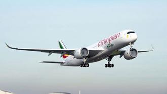 هواپیمای اتیوپی - عکس از آرشیو