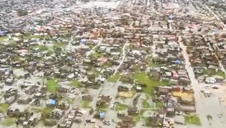 تلفات گسترده سیل و گردباد در موزامبیک