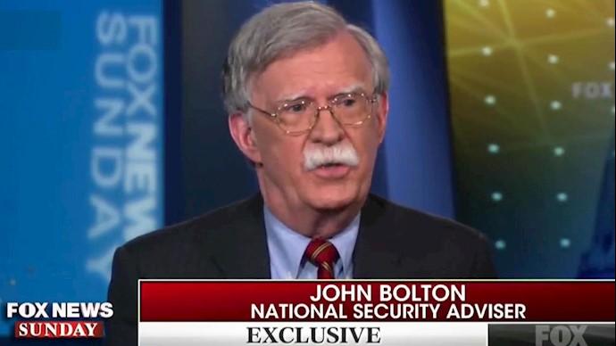 جان بولتون مشاور امنیت ملی رئیسجمهور آمریکا