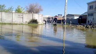 گمیشان - وضعیت خیابان الغدیر سوم