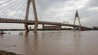 رودخانه کارون- اهواز- هم اکنون