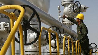 کاهش صادرات نفت رژیم ایران