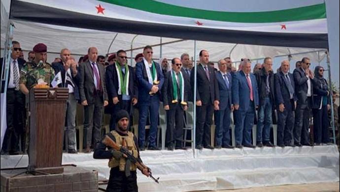 افتتاح دفتر اپوزیسیون سوریه در در داخل سوریه