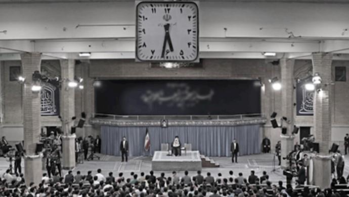 دیدار خامنهای با جمعی از عوامل سرکوب و جاسوسی در دانشگاهها