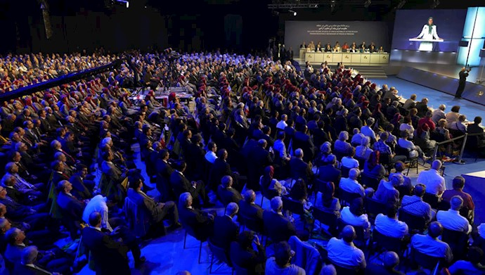 بازدید و کنفرانس بینالمللی در اشرف ۳-4