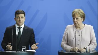 صدراعظم آلمان - رئیس جمهور اوکراین