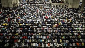 نماز عید فطر در ترکیه