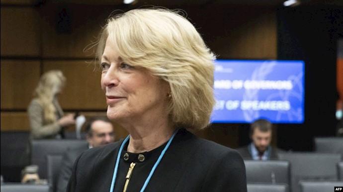 جلی ولکات نماینده آمریکا در آژانس بینالمللی انرژی اتمی