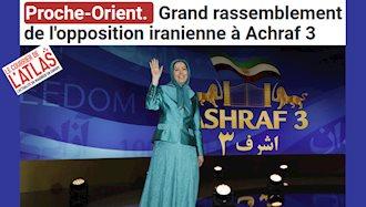 سایت فرانسوی لکوریه لاطلس:جهان با مجاهدین خلق دیدار کرد