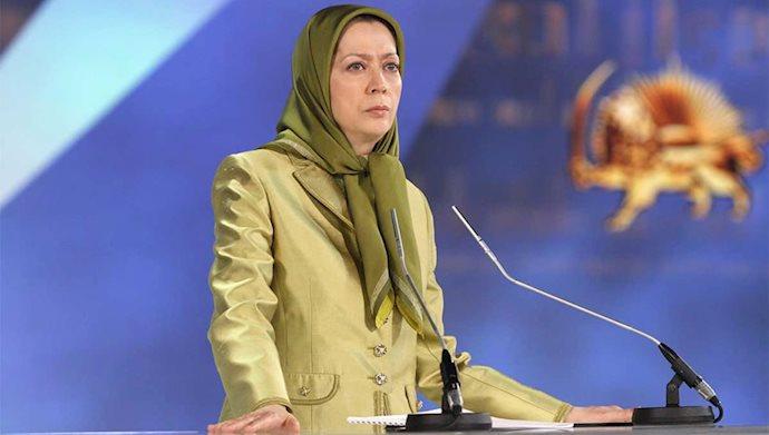 مریم رجوی دادخواه قتلعام شدگان ۶۷
