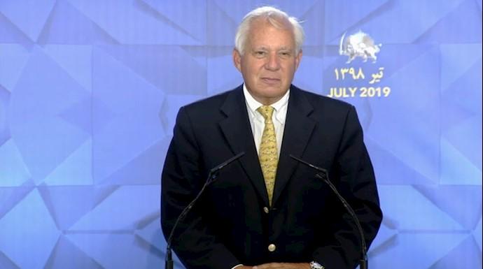 سناتور توریسلی - کنفرانس دادخواهی قتلعام ۶۷