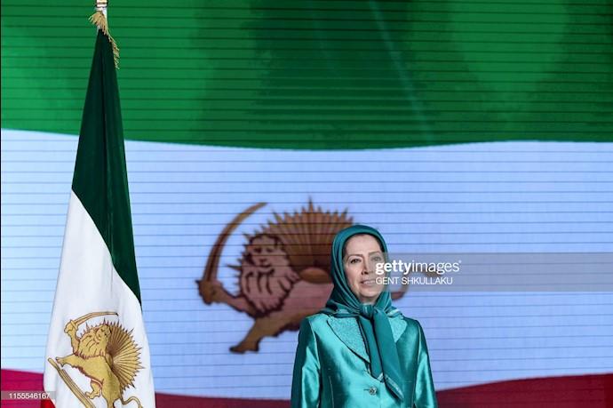 مریم رجوی در کنفرانس ۱۲۰سال مبارزه برای آزادی ایران در اشرف ۳