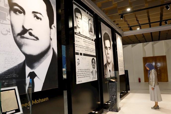 مریم رجوی - بزرگداشت نبرد تاریخی مردم ایران برای آزادی - اشرف ۳