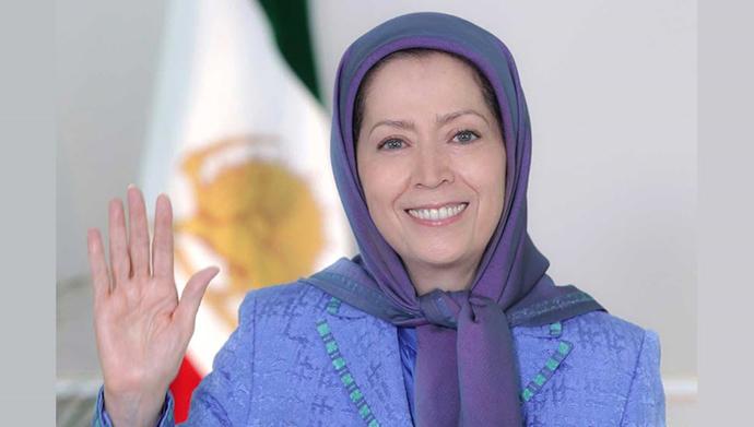 مریم رجوی - پیام به تظاهرات ایرانیان در سوئد
