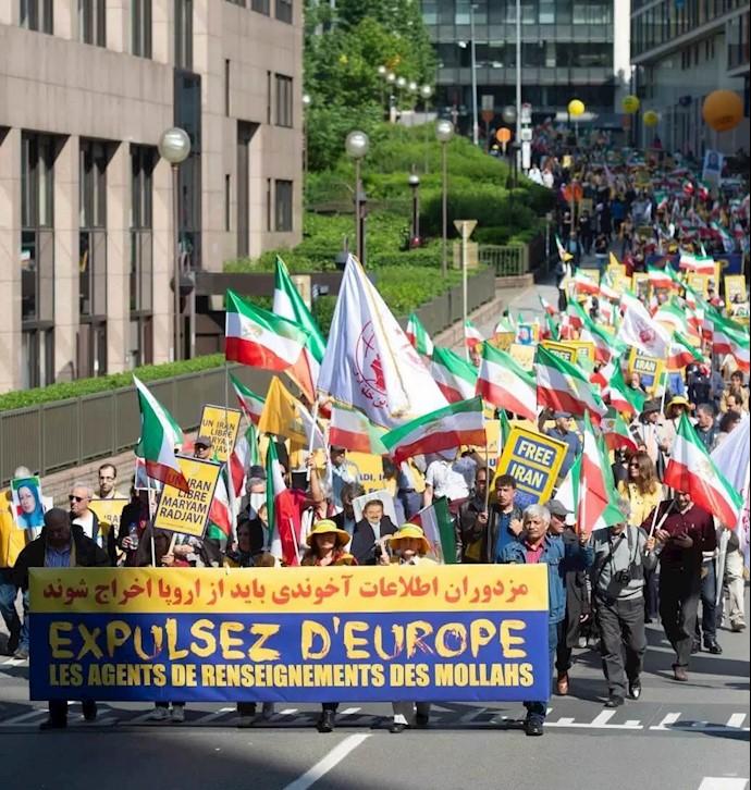تظاهرات بروکسل در سال ۹۸