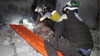 بمباران یکی از روستاهای ادلب توسط رژیم اسد