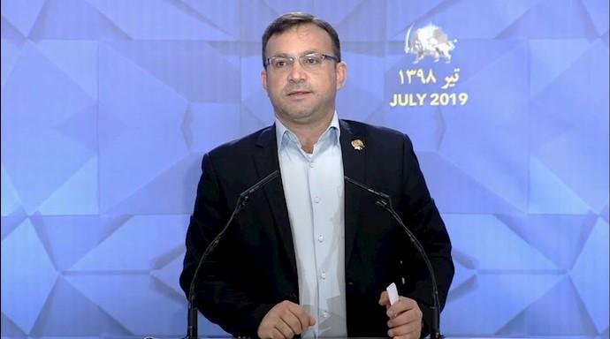 عابد المصیری نماینده پارلمان اردن