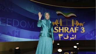 مریم رجوی - گردهمایی ایران آزاد در اشرف ۳ - ۲۲تیر۹۸