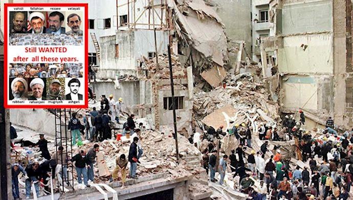 انفجار آمیا توسط رژیم ایران