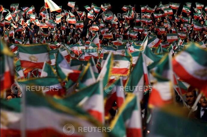 خبرگزاری رویترز - گردهمایی ایران آزاد اجلاس سالانه مقاومت ایران در اشرف ۳- ۲۲تیر۱۳۹۸