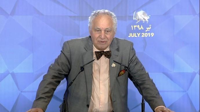 سید احمد غزالی - کنفرانس دادخواهی قتلعام ۶۷