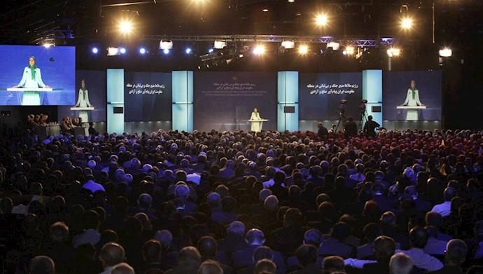 کنفرانس بینالمللی در اشرف۳ـ ۸تیر ۱۳۹۸