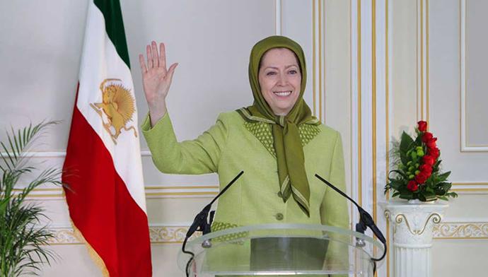 پیام مریم رجوی به تظاهرات ایرانیان در انگلستان