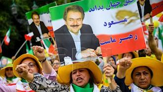 تظاهرات بزرگ ایرانیان در برلین ۷