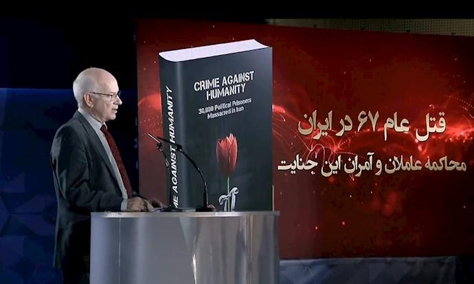 پیتر مورفی رئیس مشترک کمیته استرالیاییهای حامی دموکراسی در ایران
