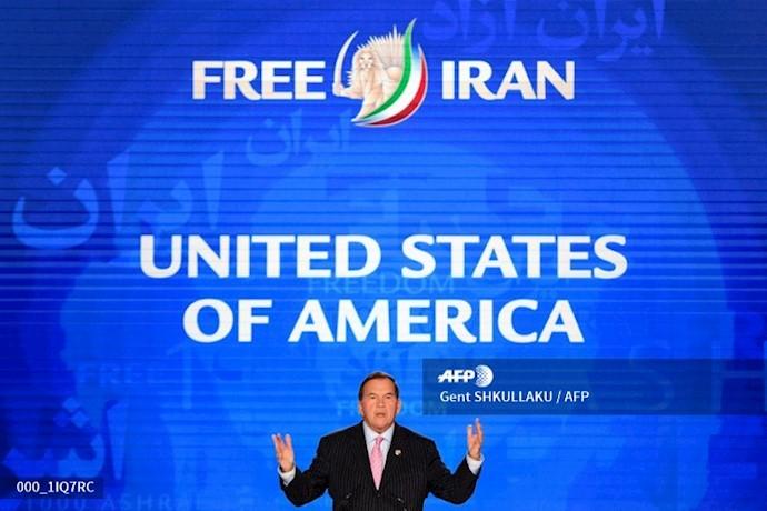 خبرگزاری فرانسه - تام ریچ - گردهمایی ایران آزاد اجلاس سالانه مقاومت ایران در اشرف ۳