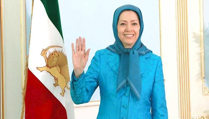 مریم رجوی رئیسجمهور برگزیده مقاومت