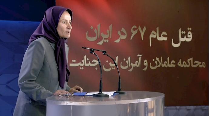 مجاهد کبری جوکار از شاهدان جنایات رژیم در زندانها