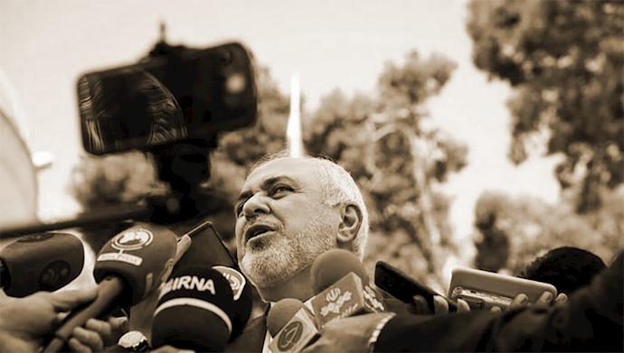 جواد ظریف وزیر خارجه رژیم آخوندی