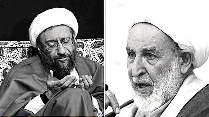 آخوند محمد یزدی - آخوند صادق لاریجانی
