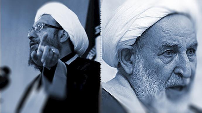 آخوند محمد یزدی و آخوند صادق لاریجانی