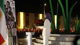 به یاد شهیدان مجاهد خلق در ۶ و۷مرداد ۱۳۸۸