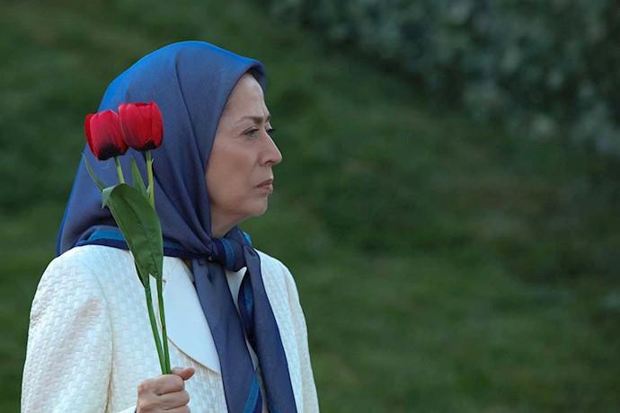 مریم رجوی - مراسم بزرگداشت فروغ جاویدان