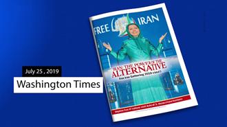 ویژهنامهٔ ۳۶صفحهیی واشنگتن تایمز درباره گردهمایی ایران آزاد در اشرف ۳
