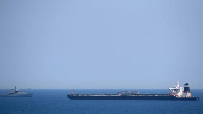 دزدی دریایی یک کشتی خارجی حامل سوخت توسط سپاه پاسداران
