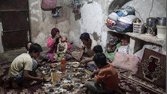بیداد فقر در حاکمیت سیاه ولایت فقیه