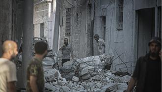 بمباران ادلب توسط رژیم اسد
