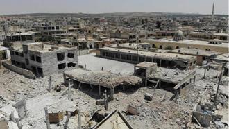 بمباران شهرهای سوریه توسط رژیم اسد