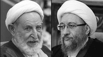 صادق لاریجانی و محمد یزدی