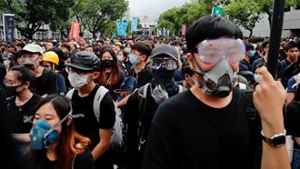 تحریم مدارس توسط دانش آموزان هنگ کنگی