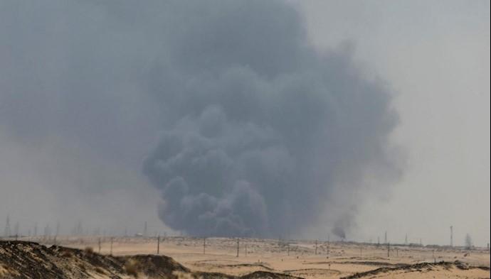 حمله رژیم ایران به تاسیسات نفتی عربستان