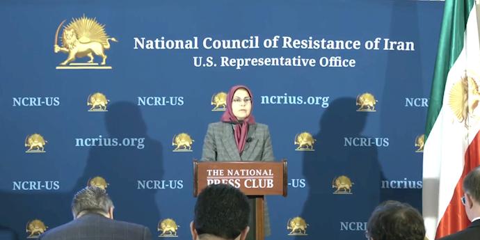 کنفرانس مطبوعاتی شورای ملی مقاومت ایران - حملات رژیم به تأسیسات نفتی عربستان از خاک ایران