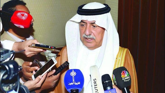 ابراهیم العساف وزیر خارجه عربستان سعودی