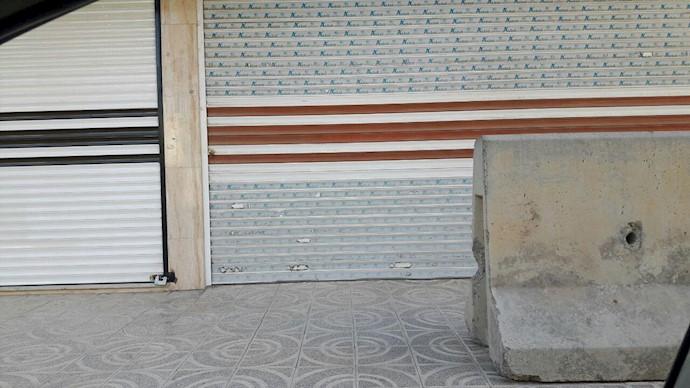 کرمانشاه - سرکوب علیه بازاریان